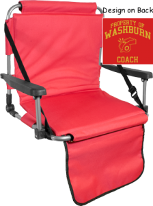 Men's Washburn High School Beavers  Structured Stadium Seats