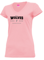 Junior Girls Wha High School Wolves Apparel