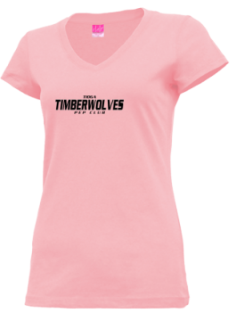 Junior Girls Tioga High School Timberwolves Apparel