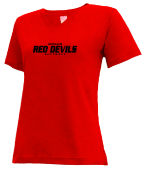 Women's Springer High School Red Devils Apparel