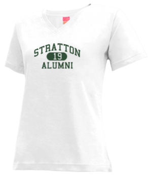 Women's Stratton High School Eagles Apparel