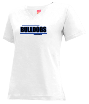 Women's Moffat County High School Bulldogs Apparel