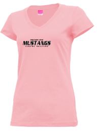Junior Girls Mounds View High School Mustangs Apparel