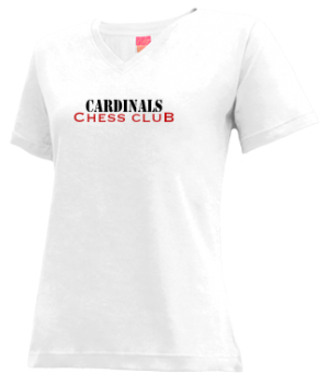 Women's Cotton High School Cardinals Apparel