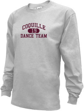Kids Coquille High School Red Devils Apparel