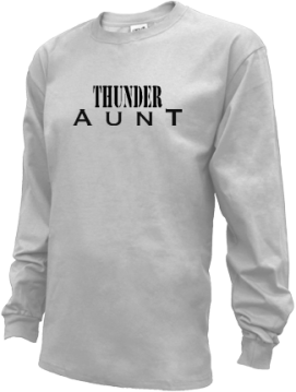 Kids Long Prairie-grey High School Thunder Apparel