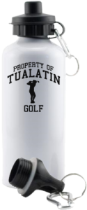 Men's Tualatin High School Timberwolves Aluminum Water Bottles