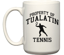 Men's Tualatin High School Timberwolves Coffee Mugs (15oz)