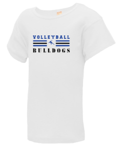Junior Girls West Albany High School Bulldogs  T-Shirts