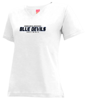 Women's Bismarck-henning High School Blue Devils Apparel
