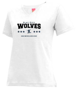 Women's Clay City High School Wolves Apparel