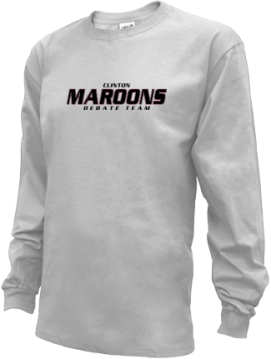 Kids Clinton High School Maroons Apparel