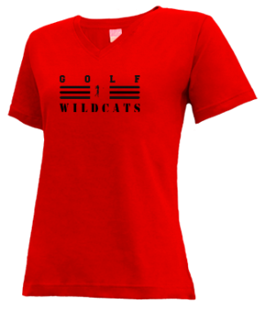 Women's Cuba High School Wildcats Apparel