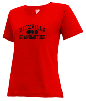 Women's Ritzville High School Broncos Apparel