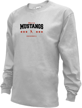 Kids Delta High School Mustangs Apparel