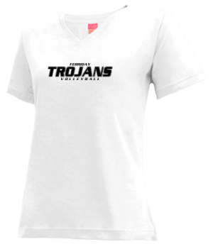 Women's Ferriday High School Trojans Apparel
