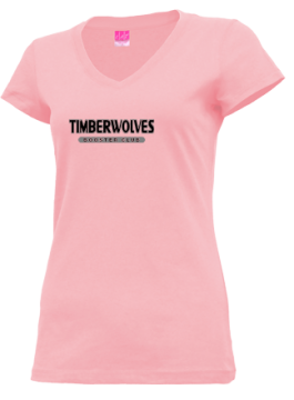 Junior Girls Midland High School Timberwolves Apparel