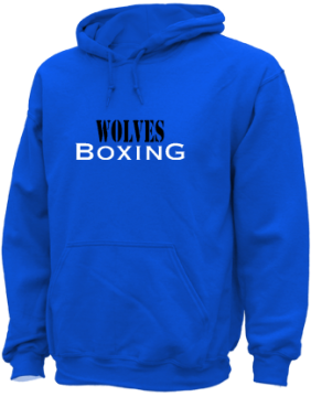 Men's Martin Luther King High School Wolves Apparel