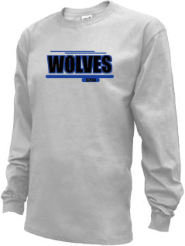 Kids Martin Luther King High School Wolves Apparel