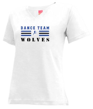 Women's Martin Luther King High School Wolves Apparel