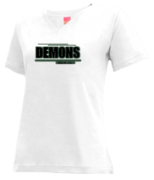 Women's Mamou High School Demons Apparel