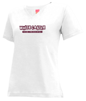 Women's White Castle High School Bulldogs Apparel
