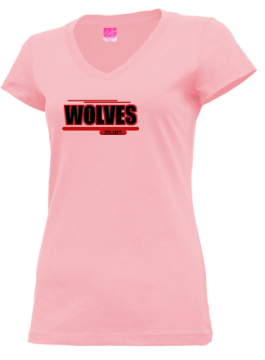 Junior Girls Pearl City High School Wolves Apparel