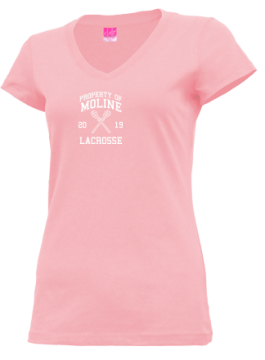 Junior Girls Moline High School Maroons Apparel