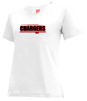 Women's Tri-point High School Chargers Apparel