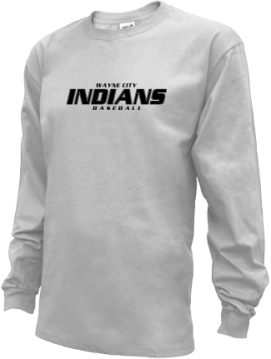 Kids Wayne City High School Indians Apparel