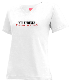 Women's Vestaburg High School Wolverines Apparel
