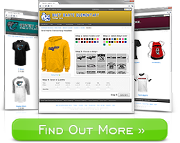 SSA Stores provides free online storefronts for custom clothing and sports apparel for any school, group or organization!